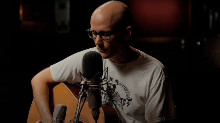 """Watch Moby Reimagine 2000 Hit """"Porcelain"""" In Stripped-Down Live Performance [Exclusive]"""