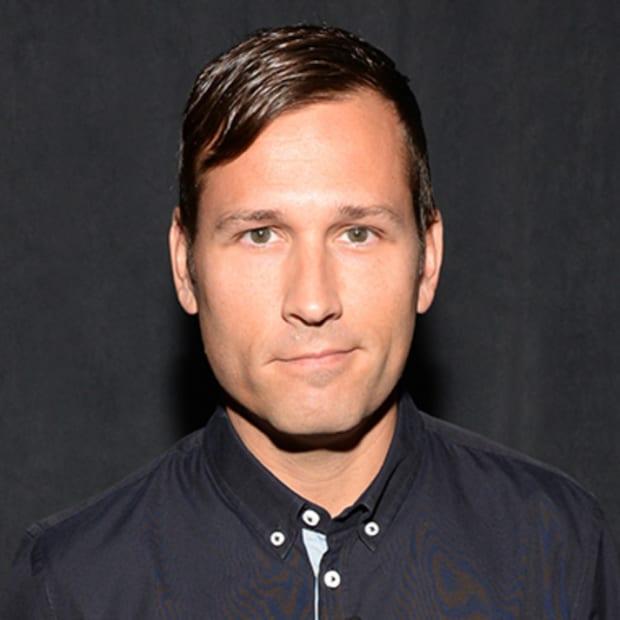 A color headshot of DJ/producer Kaskade (real name Ryan Raddon).