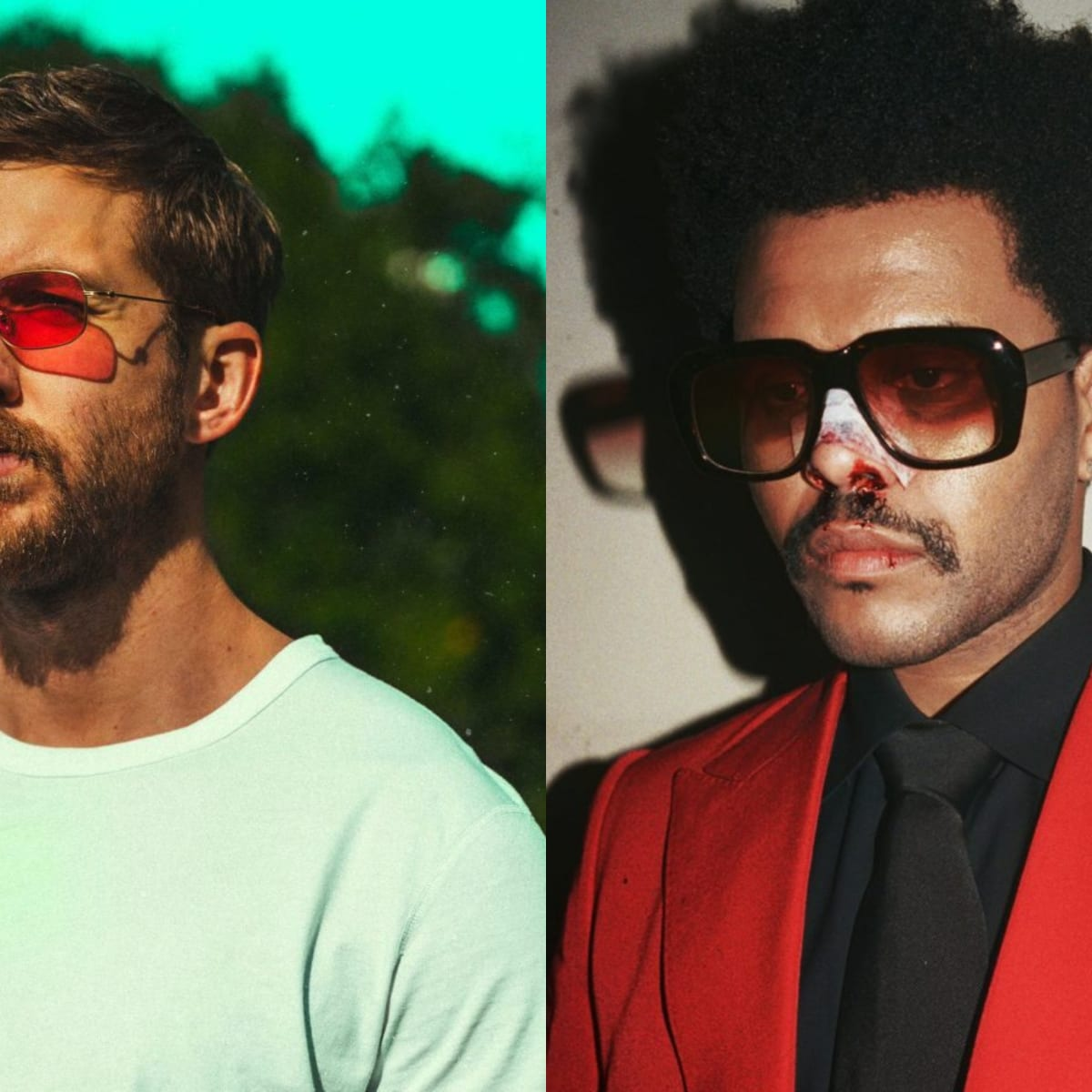 Calvin Harris And The Weeknd Drop Interdimensional Video For Over Now Edm Com The Latest Electronic Dance Music News Reviews Artists