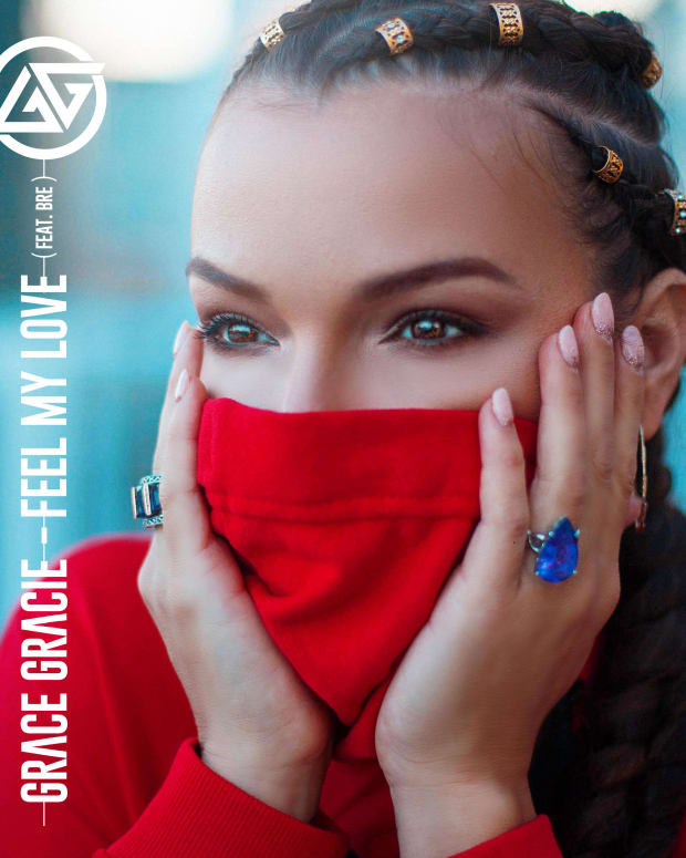 Grace Gracie - Feel My Love (Oracle Music Group) - ALBUM ART
