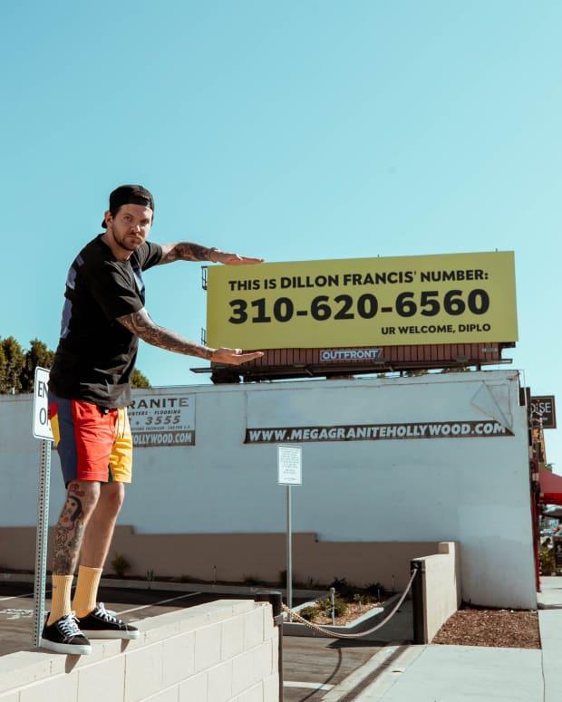 Diplo and Dillon Francis Billboard