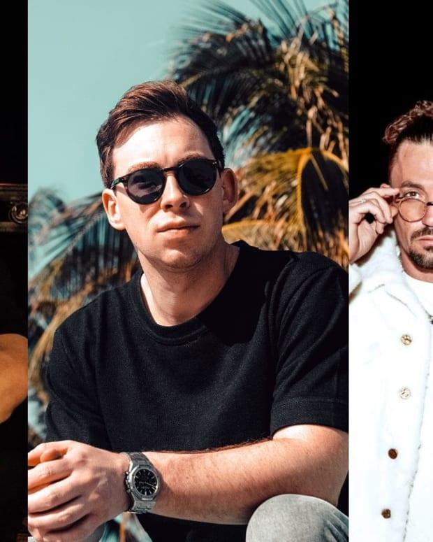 Martin Garrix, Hardwell, and Dimitri Vegas & Like Mike