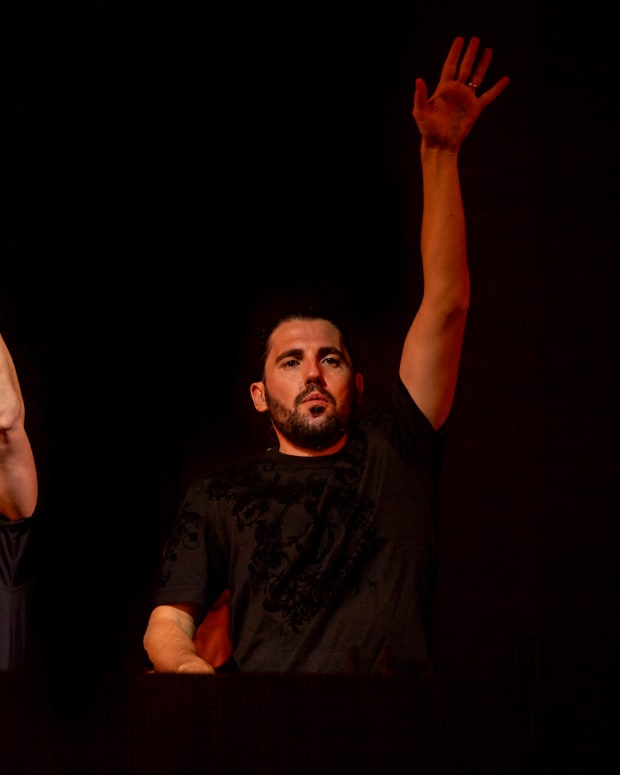 Dimitri Vegas & Like Mike at the Garden of Madness NYC event courtesy of Eric Cunningham.