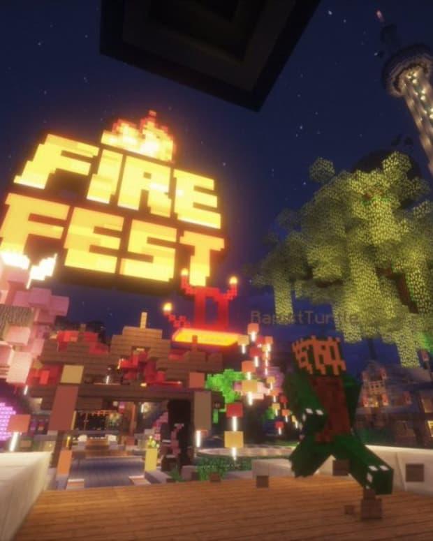Fire Festival Minecraft