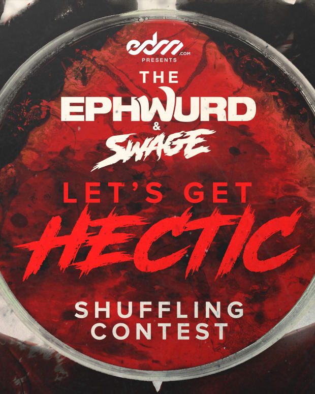 """EPHWURD & SWAGE - """"Hectic"""" -- EDM.com Presents """"Lets Get Hectic"""" Shuffling Contest (Dance UGC Content / Shufflers)"""