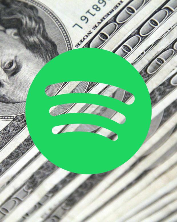 Spotify money