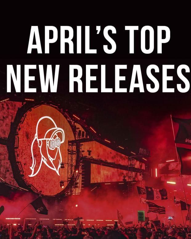 EDM April 2020 Top Picks Playlist Cover Rezz