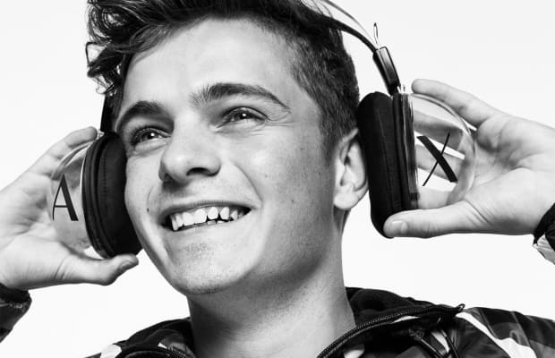 Martin Garrix is Headlining Armani Exchange's Fall 2017 Clothing Campaign