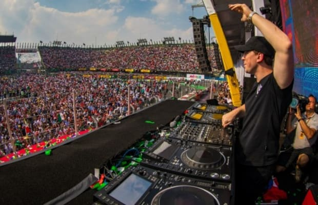 Hardwell creates history by performing the first ever dj set on an hardwell creates history by performing the first ever dj set on an f1 podium at the altavistaventures Image collections