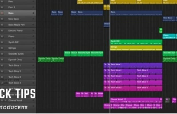 3 Tips to Help Organize Your Project in Logic Pro X