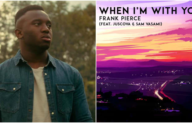 """Frank Pierce Releases New Hit Single """"When I'm With You"""""""