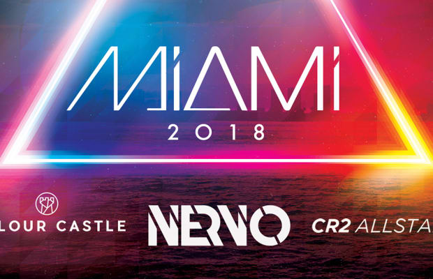 "CR2 Records Teases Miami 2018 With NERVO's New & Exclusive Track ""Why Do I"" [PREMIERE]"