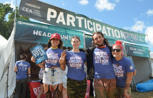 Music and Democracy Came Together Last Weekend With HeadCount at Okeechobee