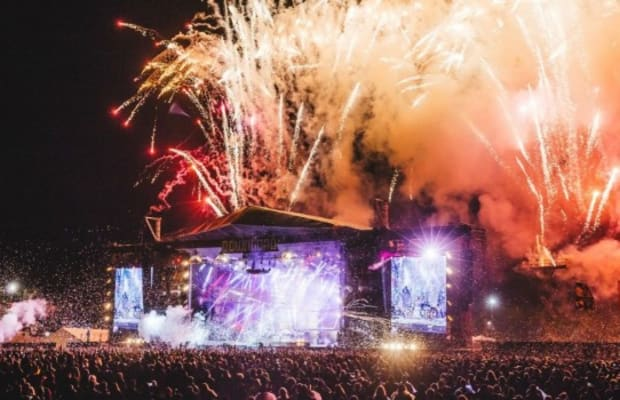 Use Of Pyrotechnics And Flares Banned At UK Music Festivals