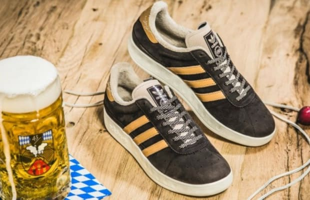 Adidas Introduces Puke and Beer Repellant Sneakers for München Oktoberfest
