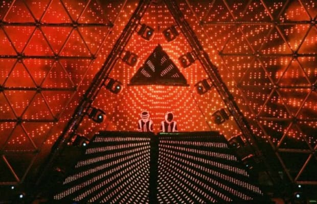 A Daft Punk Tribute Act is Recreating and Bringing Back the Iconic Pyramid Stage