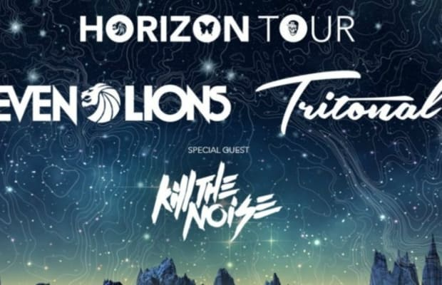 Seven Lions, Tritonal and Kill The Noise embark on North American 'Horizon' Tour This Fall