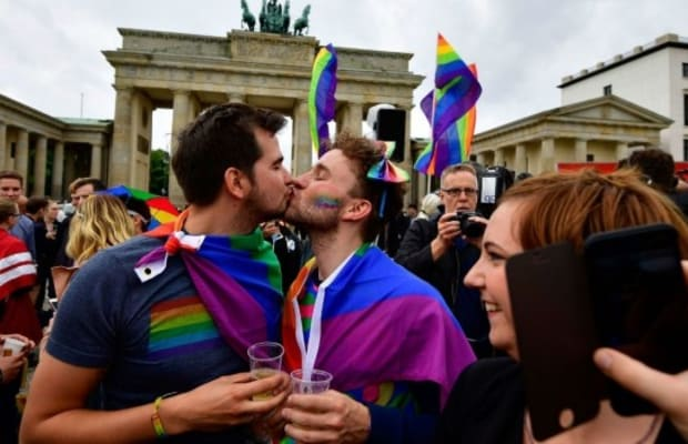 Germany Legalized Same-Sex Marriage On the Last Day of Pride Month