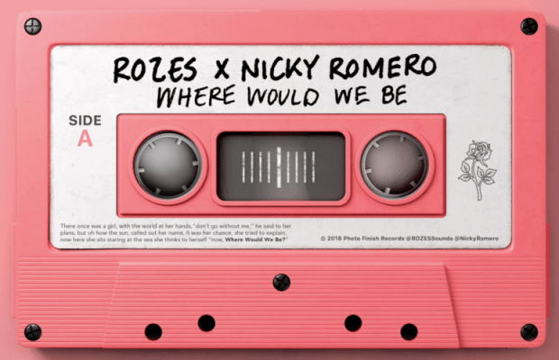 "Nicky Romero & Rozes Team Up For New Collab ""Where Would We Be"""