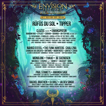 Sunset Music Festival 2020 Lineup.Envision Festival Releases 2020 Lineup Edm Com The