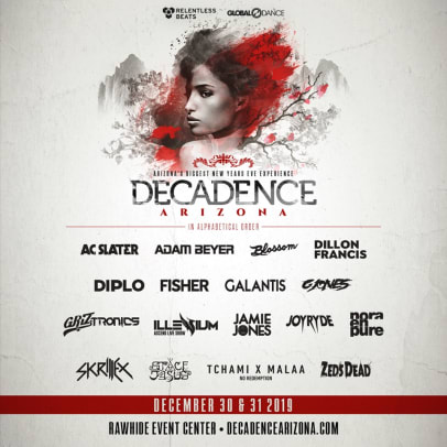 Decadence Arizona Adds Zeds Dead, Adam Beyer, and more for Phase 2