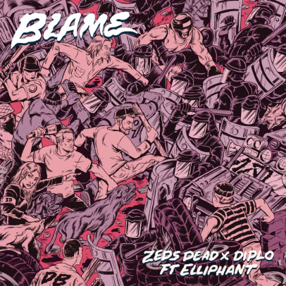 zeds dead blame cover