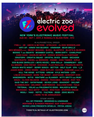 electric zoo evolved