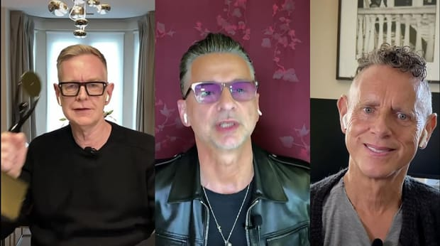 Watch Depeche Mode S Wholesome Rock Roll Hall Of Fame Acceptance Speech Edm Com The Latest Electronic Dance Music News Reviews Artists