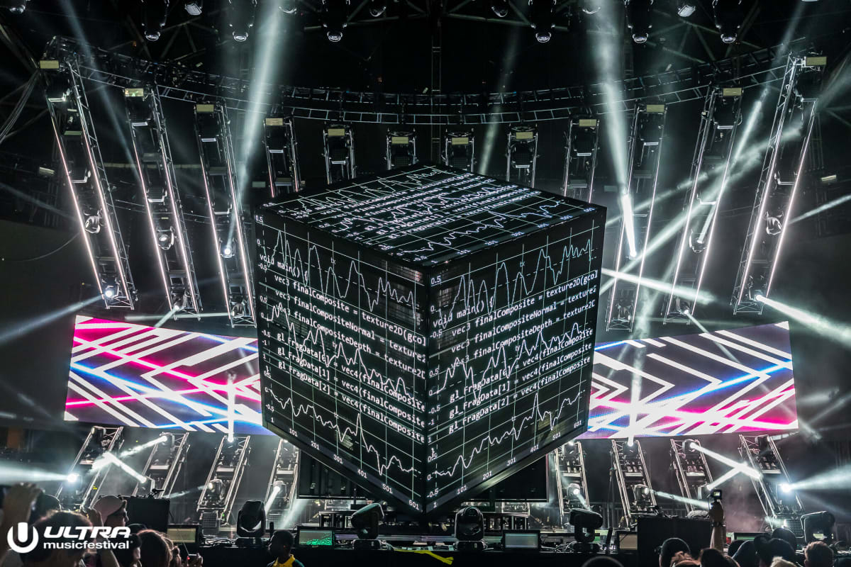 deadmau5 Shares Video of Ultra Music Festival Cube 3.0 Show ft. LIGHTS