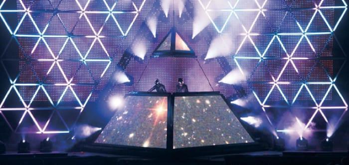 Daft Punk Pyramid - تور زنده 2007