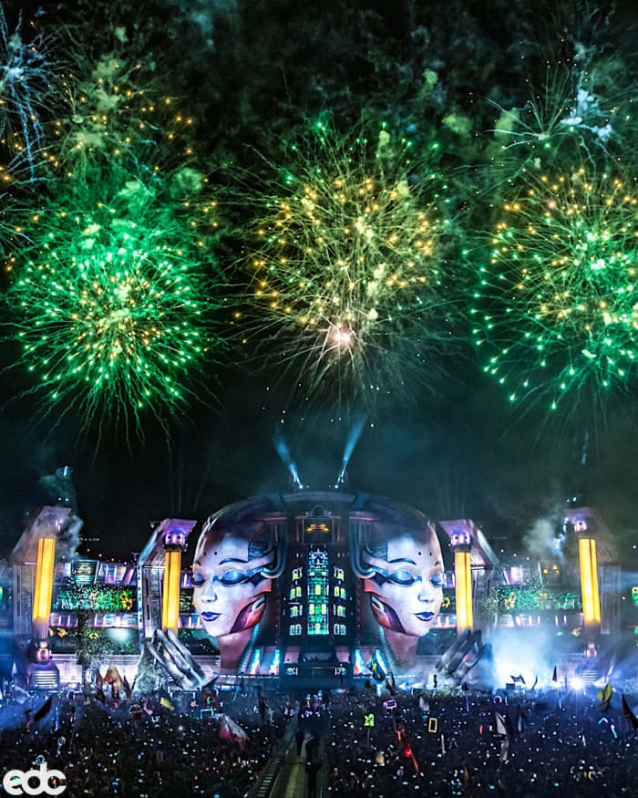 A Night Owl's First Electric Sky Experience at EDC Las Vegas 2019