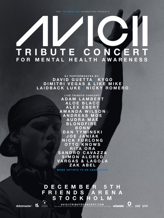 Avicii Tribute Concert Announced Featuring Kygo, David Guetta, and More