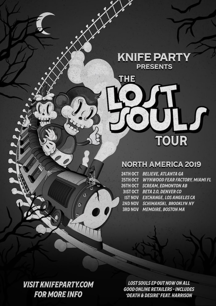 Knife Party to Embark On North American Lost Souls Tour