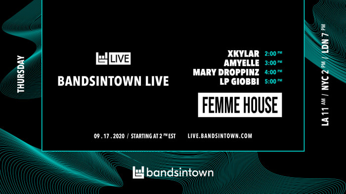 FEMME HOUSE Live Lineup