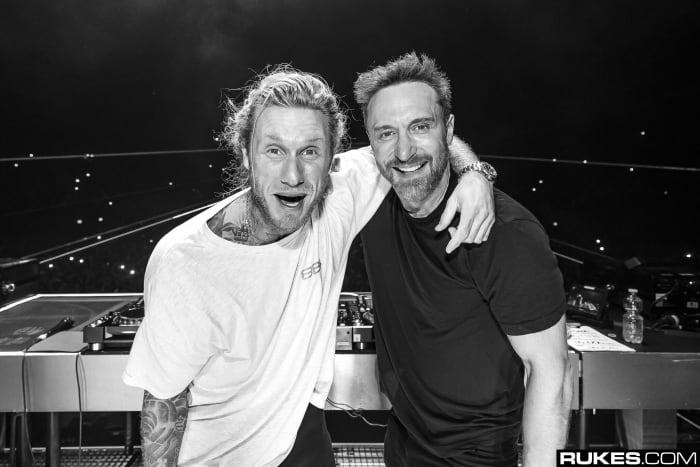 David Guetta and MORTEN