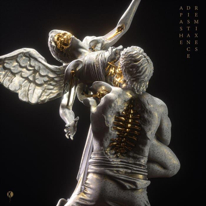 Apashe 'Distance Remixes' Art
