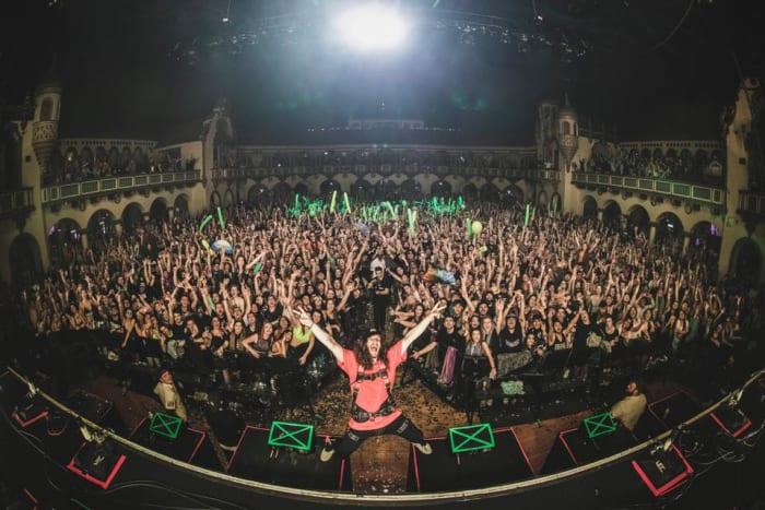 Subtronics headlining Chicago's Aragon Ballroom for his Cyclops Invasion Tour