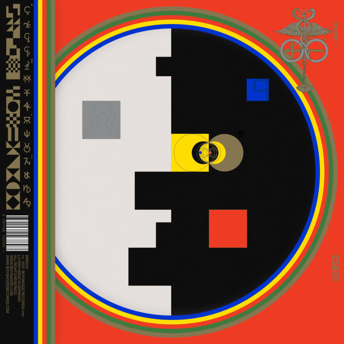 Boys Noize Polarity - album covers