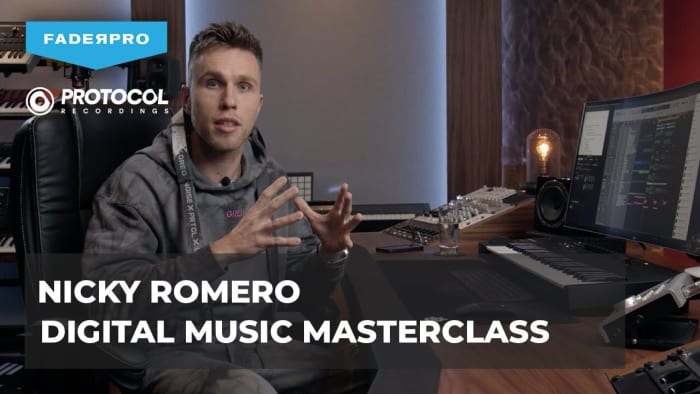 Nicky Romero will host his first full-length masterclass in partnership with FaderPro.