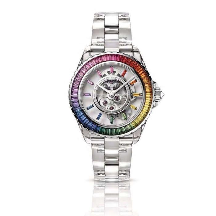 The Daft Punk J12 Chanel Electro watch.