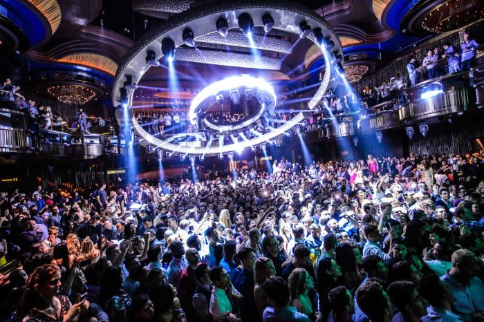 Omnia Nightclub in Las Vegas.