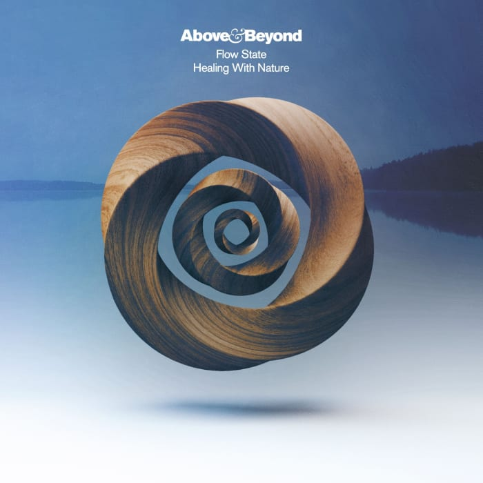"""Flyer for Above & Beyond's """"Flow State: Healing With Nature"""" album."""