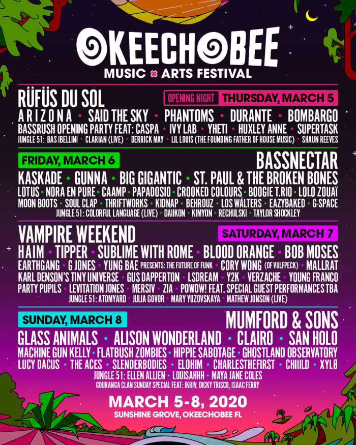 Alison Wonderland, Bassnectar and More on Okeechobee Music & Arts Festival 2020 Lineup