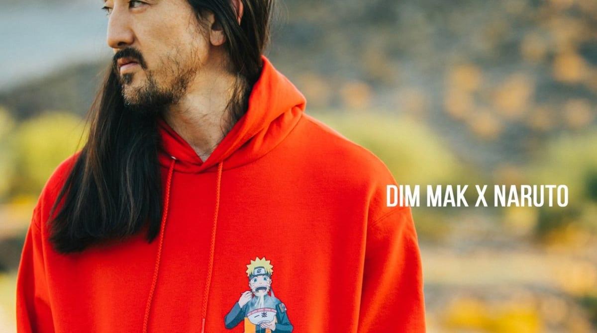 "Steve Aoki Introduces New ""Naruto"" Merch Collaboration - EDM.com"