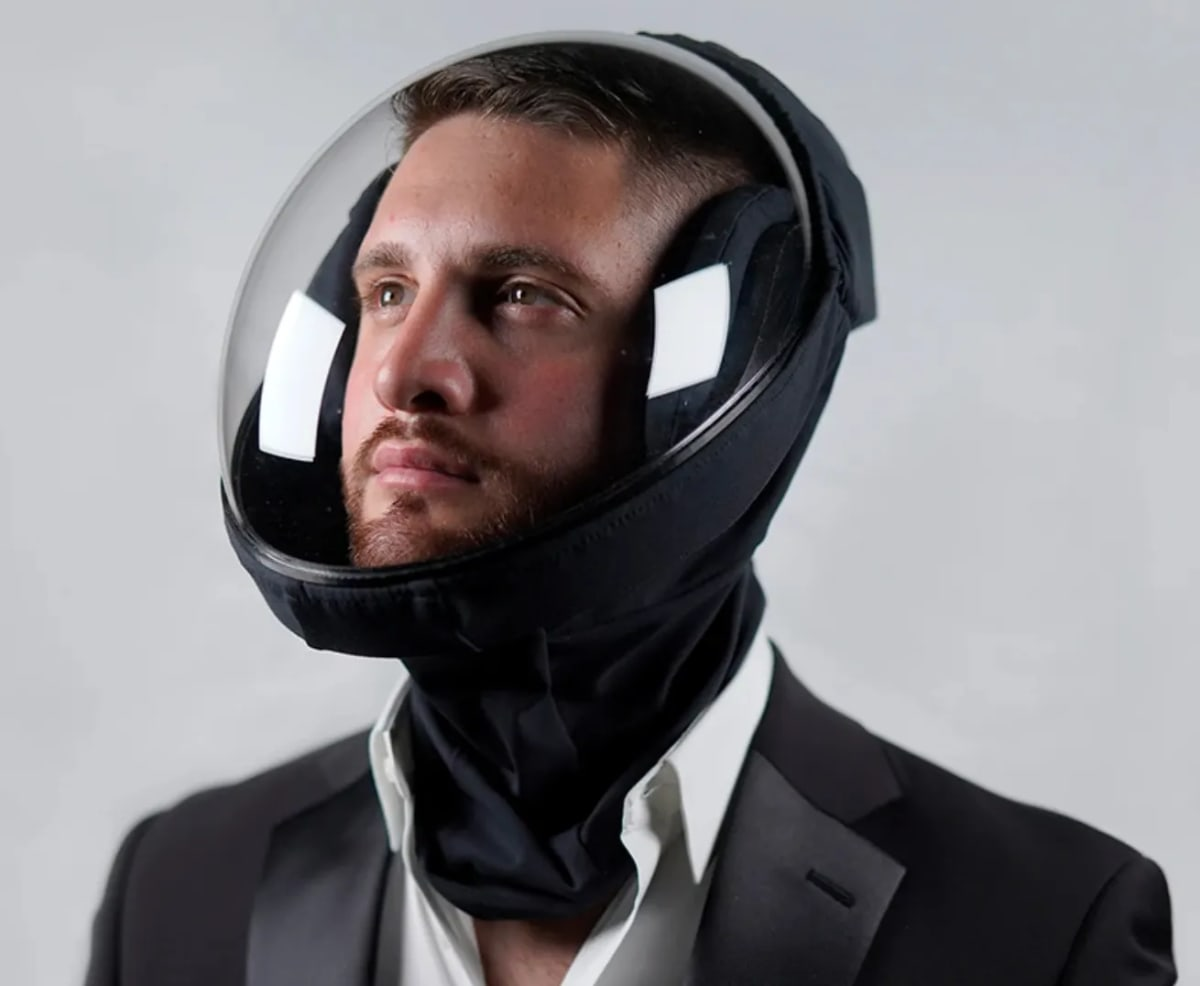 For $199, You Can Look Like a Cringey Daft Punk-Esque Astronaut With This Pandemic-Proof Helmet - EDM.com
