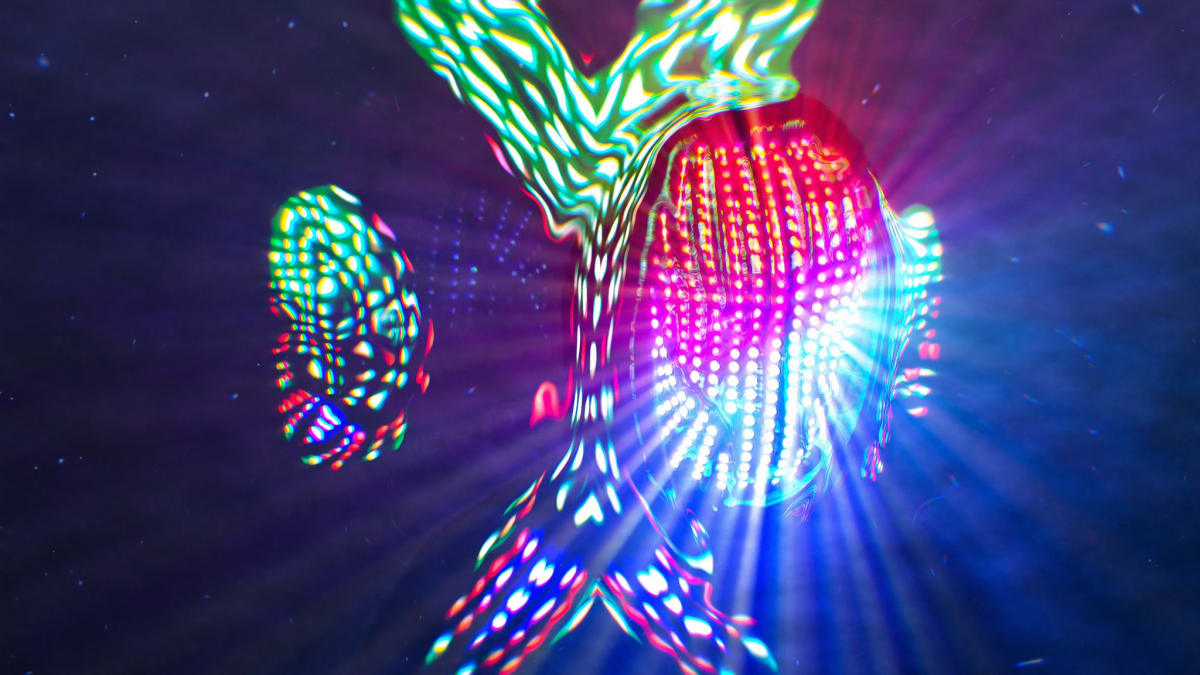 [WATCH] Immerse Yourself in Deathpact's Eye-Popping, Kaleidoscopic Digital Mirage Set - EDM.com