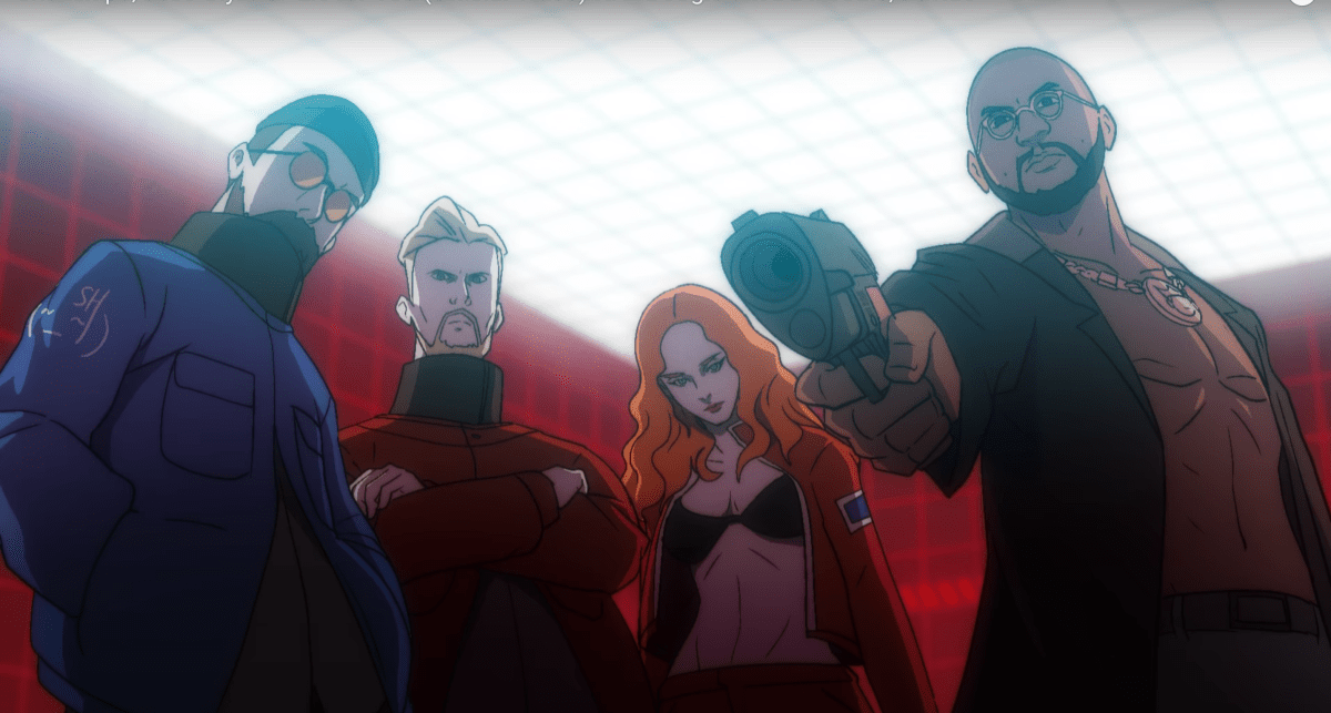 "Watch Anime Avatars of Snakehips and Jess Glynne Fight Evil in Dystopian ""Lie for You"" Music Video - EDM.com"
