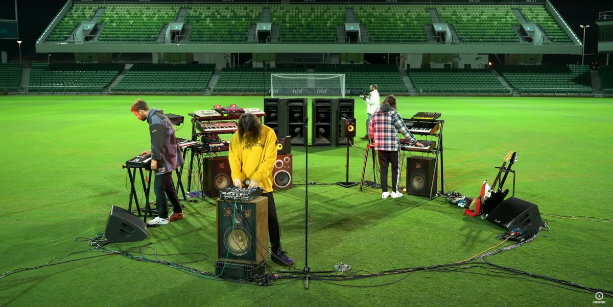 Watch Tame Impala Perform to An Empty Stadium for FIFA 21's Official Soundtrack - EDM.com