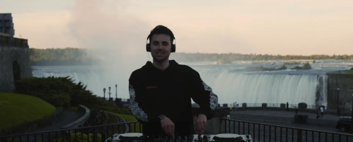 Watch Dzeko Drop Massive DJ Set Live from Niagara Falls - EDM.com