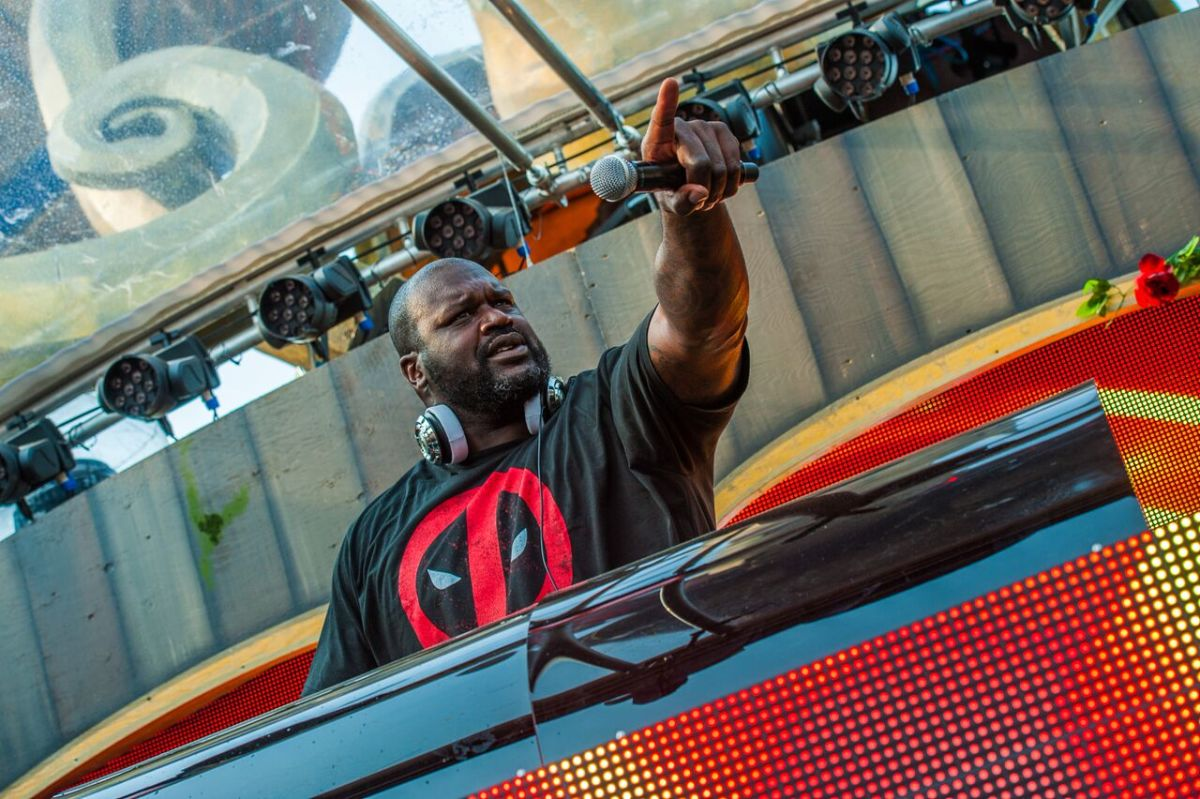 """Shaq Says He's Performing for """"The Sport of Bass Music"""" in New Interview"""
